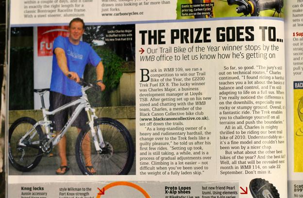 What Mountain Bike BCC Winner