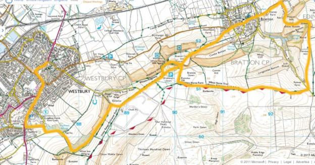 Westbury Map