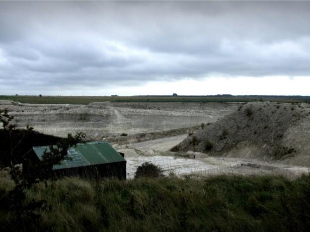 Clalk quarry