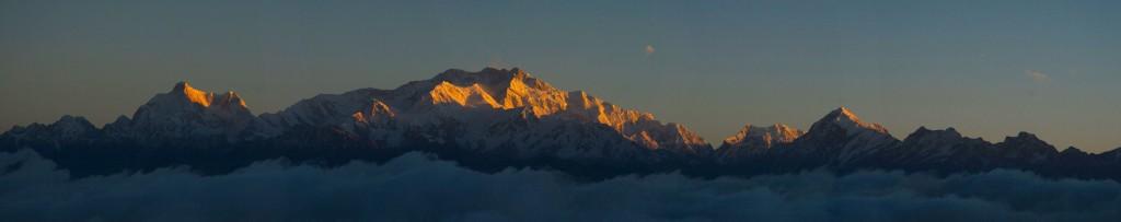 Kangchenjunga Panorama